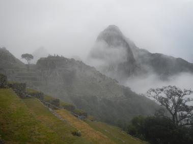 Sunrise over Macchu Picchu