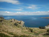 Ausblick von der Isla del Sol