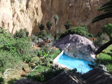 Pool der Oase