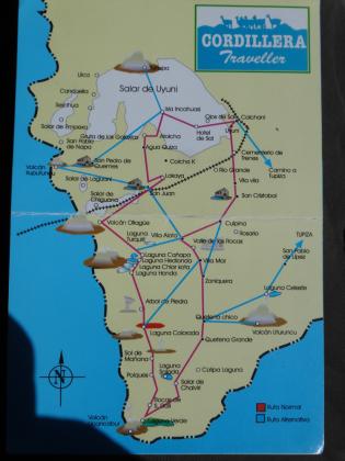 Salar de Uyuni overview