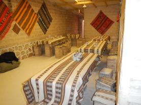Salt-hostel dining room