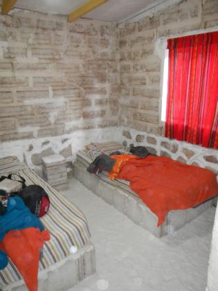 Salt-hostel bed