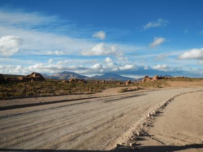 Way to Valle de las Rocas