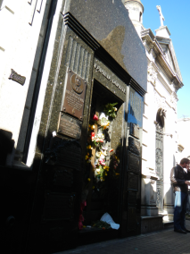 Grave of Evita