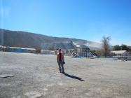 Ghost mining town