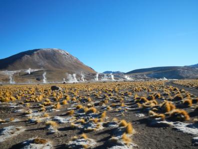 Tatio geyser field