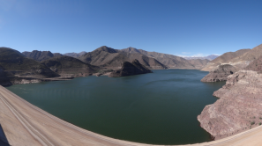 View from the Elqui dam 1