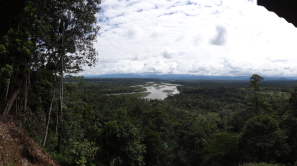 View over the Amazon basin