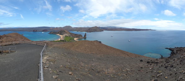Viewpoint on Bartolome Island