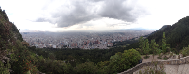 View over Bogotá