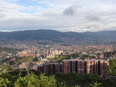 View over Medellin 2