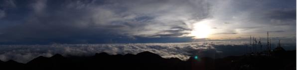 Sunrise on top of Volcán Barú