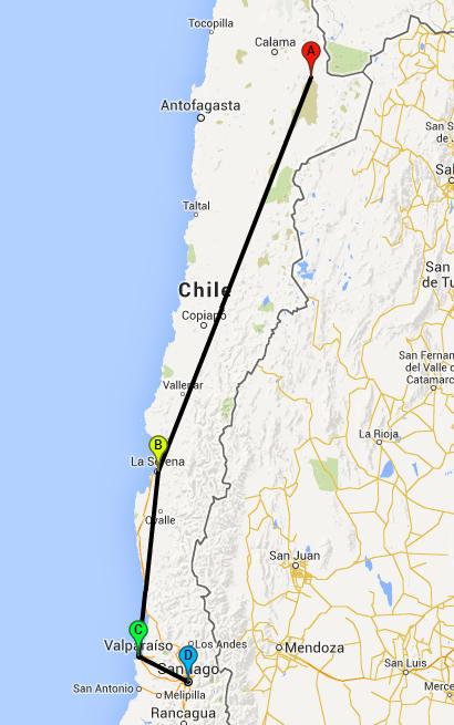 Route Chile