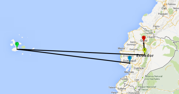 Route Ecuador