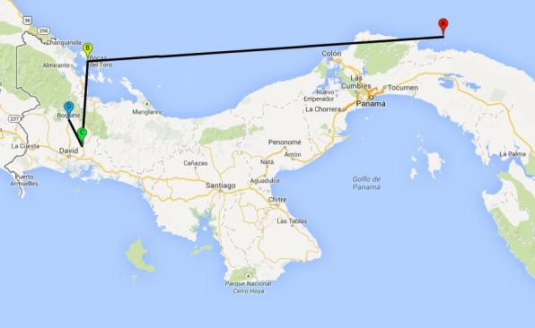Route Panama