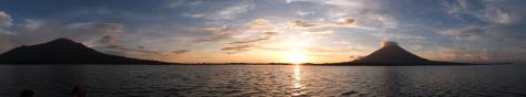 Sunset at Isla Ometepe