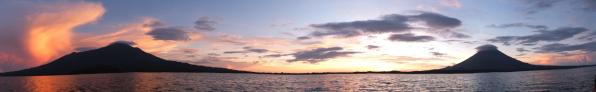 Sunset at Isla de Ometepe