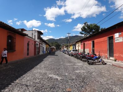 Street in Antigua