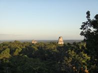 Sunset over Tikal
