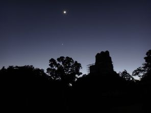 Night over Tikal