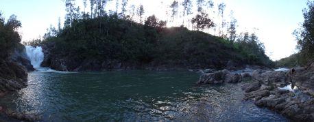 Big Rock Waterfall 1