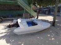 Small island, small boat