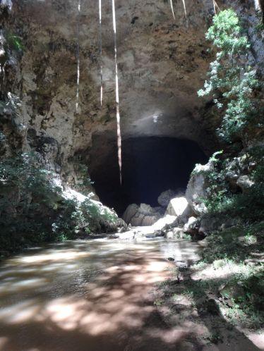 Entrance to Rio Frio Cave