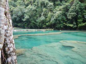 Limestone pools