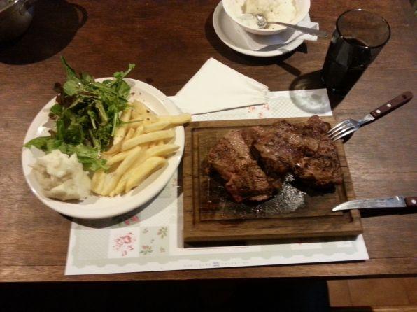 The perfect steak at Alta El Fuego