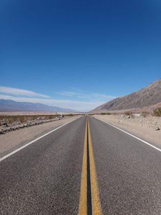 Road through Death Valley