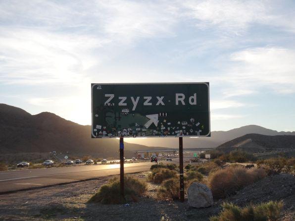 Zzyzx Road. Wait, what?