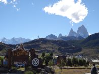 El Chaltén with Mt. Fitzroy in the background