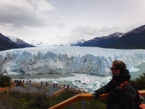 Overlooking Perito Moreno