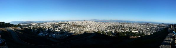 View from the Twin Peaks
