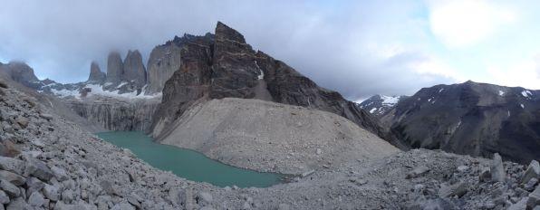 Panorama at Base Las Torres